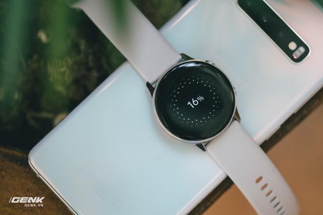 Đánh giá đồng hồ Samsung Galaxy Watch Active: thiết kế tối giản là điểm cộng, hợp với người yêu thể thao - Ảnh 15.