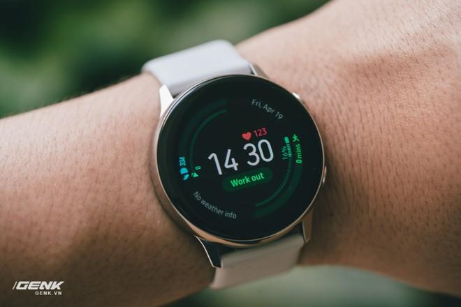 Đánh giá đồng hồ Samsung Galaxy Watch Active: thiết kế tối giản là điểm cộng, hợp với người yêu thể thao - Ảnh 19.