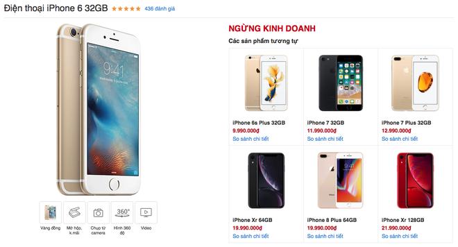 Sau hơn 4 năm được bày bán, iPhone 6 cuối cùng cũng đã bị khai tử tại Việt Nam - Ảnh 1.