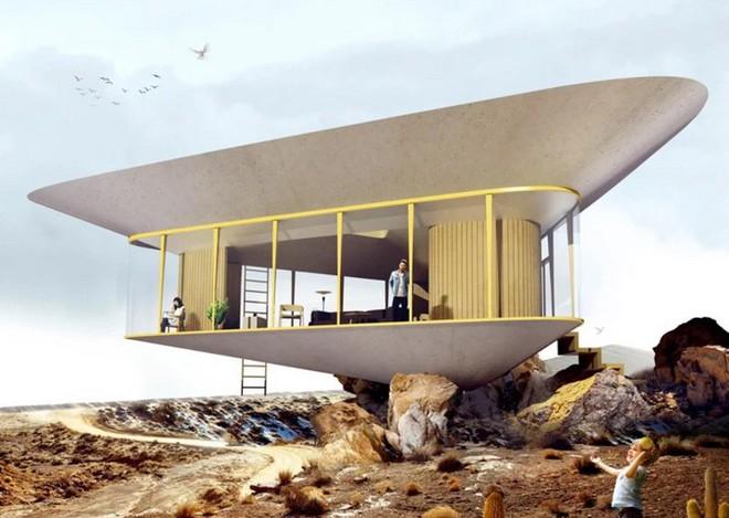 Cần gì phải ra biển tắm khi bạn có thể ngụp lặn ngay trên nóc nhà với ý tưởng thiết kế độc lạ này - Ảnh 3.