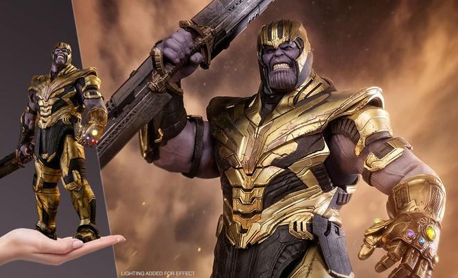 Đồ chơi mới ra hé lộ Iron Man cũng đeo Infinity Gauntlet để gõ lại Thanos - Ảnh 2.