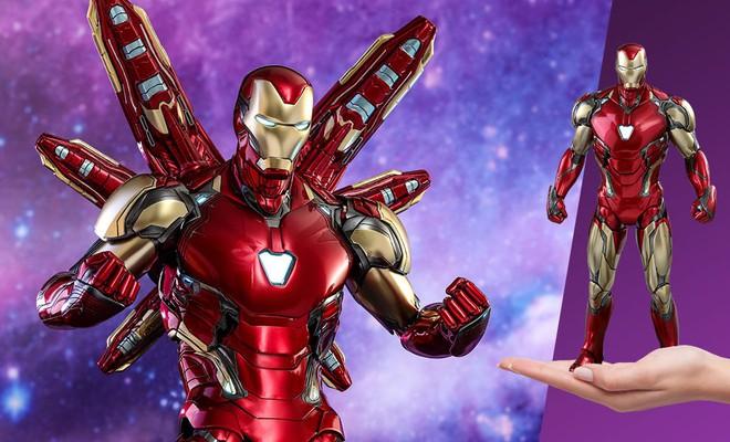 Đồ chơi mới ra hé lộ Iron Man cũng đeo Infinity Gauntlet để gõ lại Thanos - Ảnh 3.