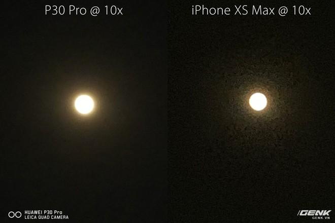 Thử chụp trăng bằng Huawei P30 Pro và so sánh với iPhone XS Max - Ảnh 3.