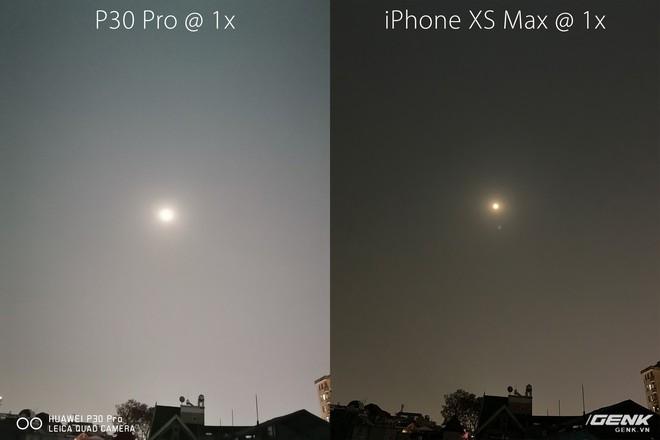 Thử chụp trăng bằng Huawei P30 Pro và so sánh với iPhone XS Max - Ảnh 2.