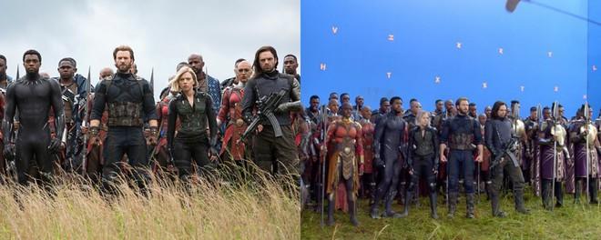Xem lại hậu trường Infinity War, mới thấy trình hóa thân thượng thừa của dàn diễn viên Marvel - Ảnh 1.