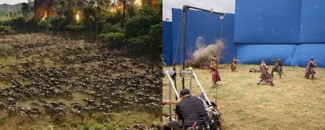 Xem lại hậu trường Infinity War, mới thấy trình hóa thân thượng thừa của dàn diễn viên Marvel - Ảnh 2.