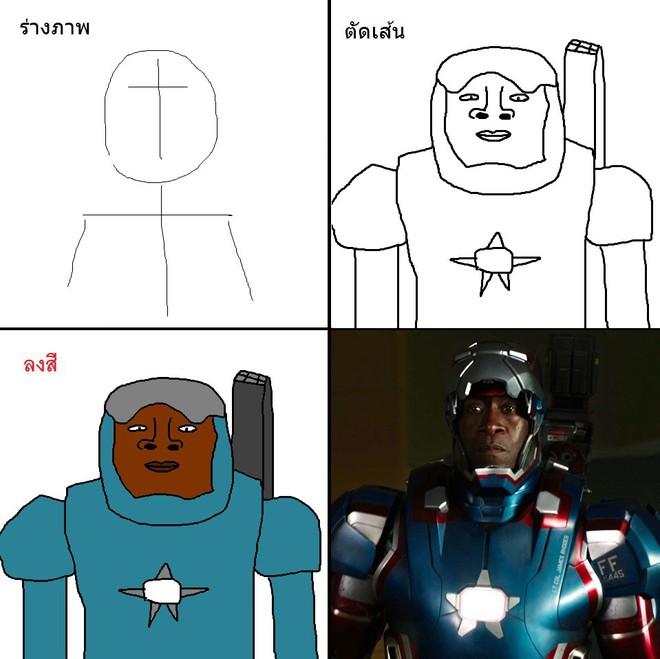 Vẽ đẹp thì khối người làm được, vẽ để gây cười như dàn siêu anh hùng MCU này mới khó - Ảnh 9.