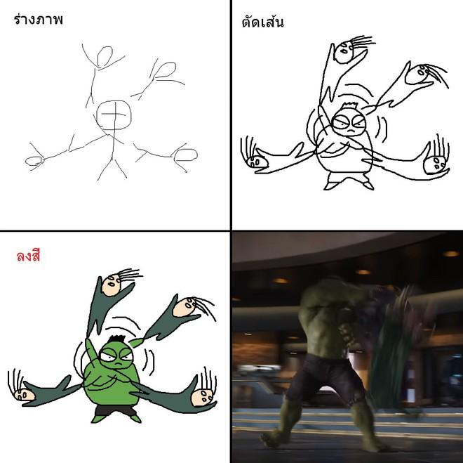 Vẽ đẹp thì khối người làm được, vẽ để gây cười như dàn siêu anh hùng MCU này mới khó - Ảnh 13.
