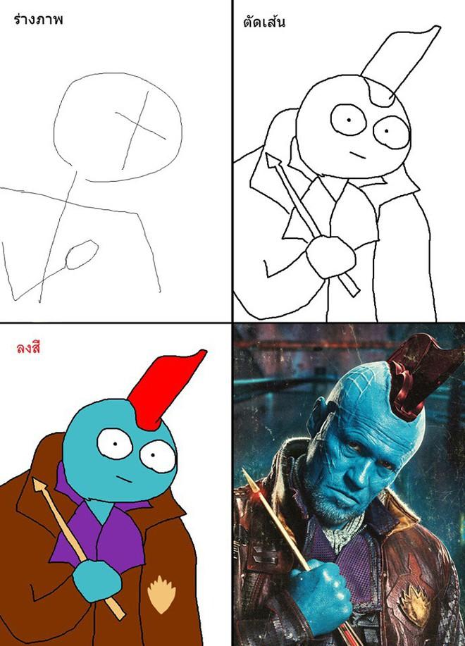 Vẽ đẹp thì khối người làm được, vẽ để gây cười như dàn siêu anh hùng MCU này mới khó - Ảnh 17.