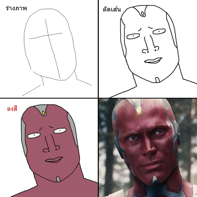Vẽ đẹp thì khối người làm được, vẽ để gây cười như dàn siêu anh hùng MCU này mới khó - Ảnh 20.