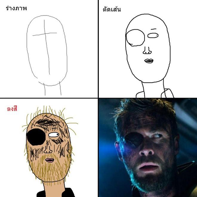 Vẽ đẹp thì khối người làm được, vẽ để gây cười như dàn siêu anh hùng MCU này mới khó - Ảnh 23.