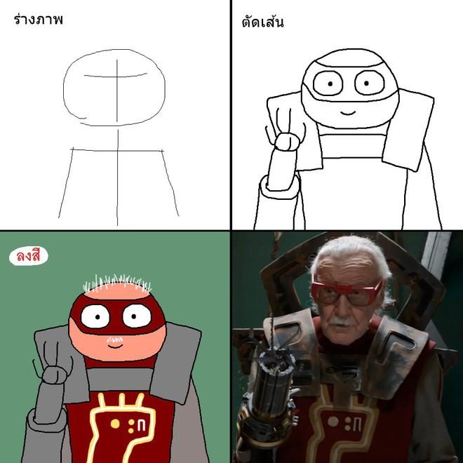 Vẽ đẹp thì khối người làm được, vẽ để gây cười như dàn siêu anh hùng MCU này mới khó - Ảnh 24.