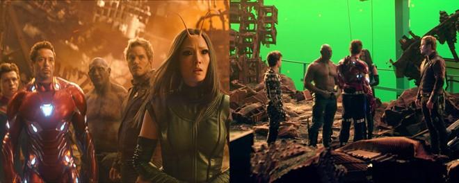 Xem lại hậu trường Infinity War, mới thấy trình hóa thân thượng thừa của dàn diễn viên Marvel - Ảnh 13.