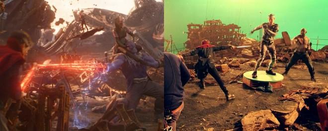 Xem lại hậu trường Infinity War, mới thấy trình hóa thân thượng thừa của dàn diễn viên Marvel - Ảnh 14.