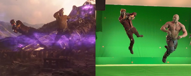 Xem lại hậu trường Infinity War, mới thấy trình hóa thân thượng thừa của dàn diễn viên Marvel - Ảnh 15.
