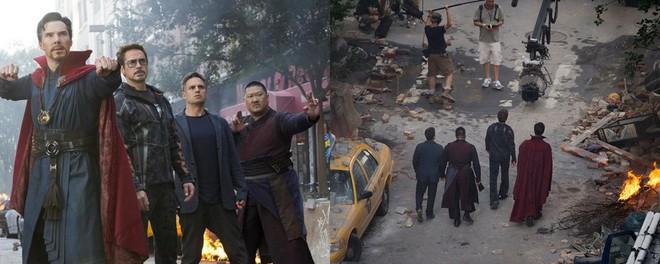 Xem lại hậu trường Infinity War, mới thấy trình hóa thân thượng thừa của dàn diễn viên Marvel - Ảnh 4.