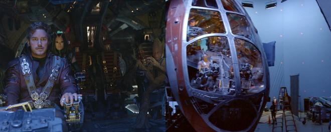 Xem lại hậu trường Infinity War, mới thấy trình hóa thân thượng thừa của dàn diễn viên Marvel - Ảnh 6.