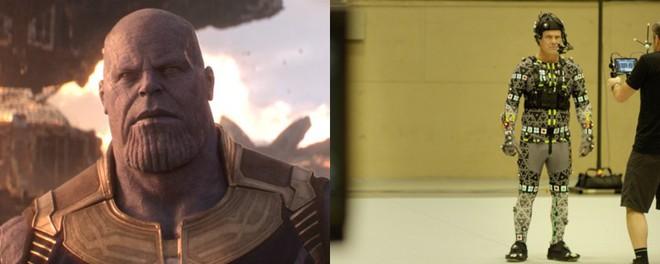 Xem lại hậu trường Infinity War, mới thấy trình hóa thân thượng thừa của dàn diễn viên Marvel - Ảnh 7.