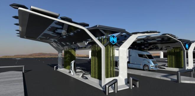 Nhiên liệu hydro sẽ thay thế chất đốt hóa thạch, 700 trạm bơm hydro cho xe tải sẽ chứng minh điều đó - Ảnh 1.