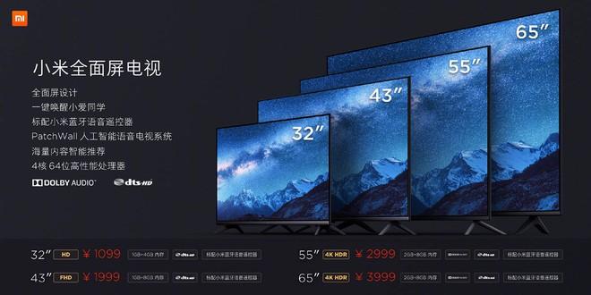 Xiaomi ra mắt loạt TV mới, giá từ 3.8 triệu đồng - Ảnh 3.
