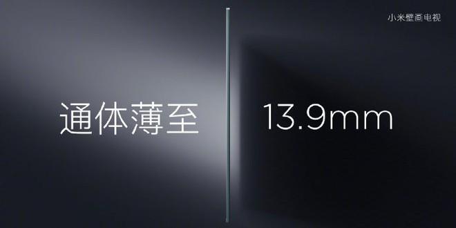 Học theo Samsung, Xiaomi ra mắt TV 65-inch với thiết kế như tranh treo tường - Ảnh 2.