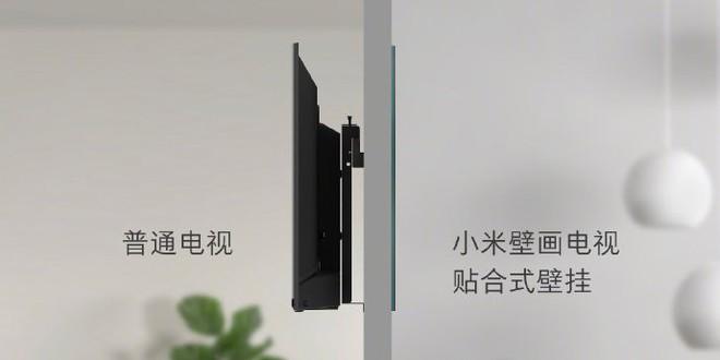 Học theo Samsung, Xiaomi ra mắt TV 65-inch với thiết kế như tranh treo tường - Ảnh 4.