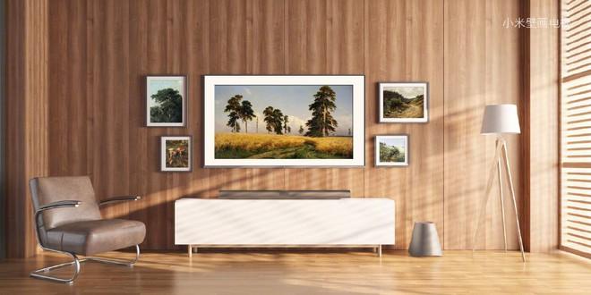 Học theo Samsung, Xiaomi ra mắt TV 65-inch với thiết kế như tranh treo tường - Ảnh 7.