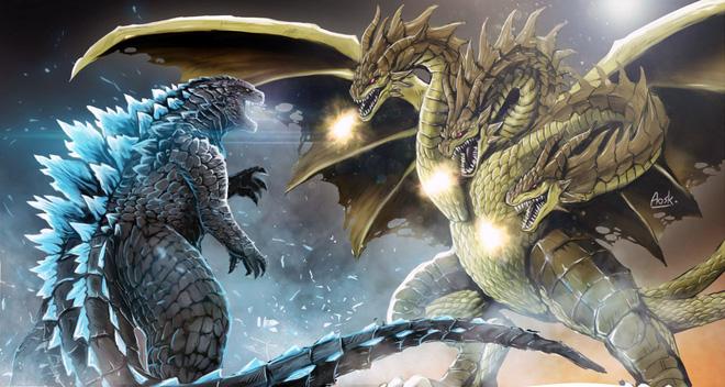 King Ghidorah - đối thủ truyền kiếp khiến vua quái vật Godzilla cũng phải e dè - Ảnh 3.