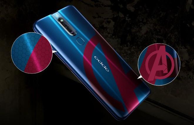 Oppo F11 Pro Marvel's Avengers Limited Edition ra mắt, thiết kế mặt lưng đặc biệt, đi kèm case gắn khiên Captain America - Ảnh 2.