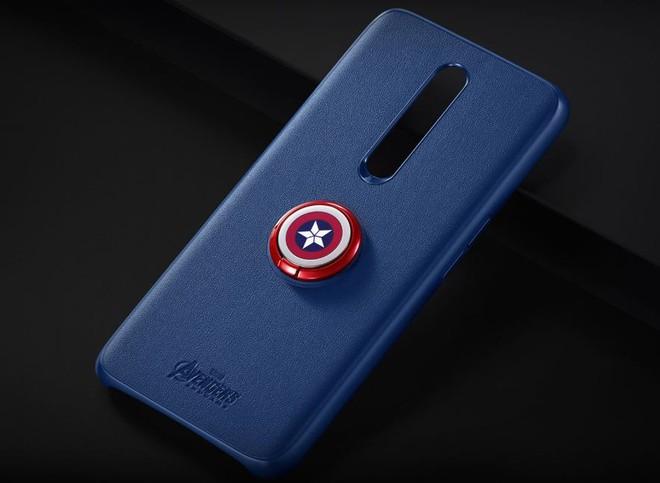 Oppo F11 Pro Marvel's Avengers Limited Edition ra mắt, thiết kế mặt lưng đặc biệt, đi kèm case gắn khiên Captain America - Ảnh 3.
