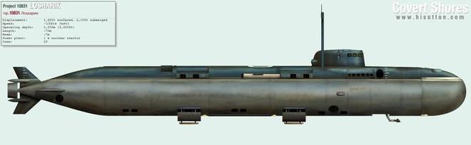 Nga hạ thuỷ tàu ngầm lớn nhất thế giới mang theo siêu ngư lôi Poseidon - Ảnh 3.