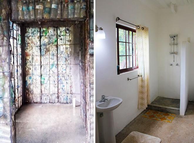 Chiêm ngưỡng ngôi làng độc đáo ở Panama, nơi nhà cửa được làm từ 1 triệu chai nhựa - Ảnh 8.