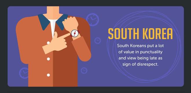 Khái niệm đúng giờ ở một số quốc gia khác nhau như thế nào? - Ảnh 1.