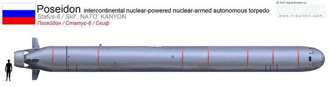 Nga hạ thuỷ tàu ngầm lớn nhất thế giới mang theo siêu ngư lôi Poseidon - Ảnh 4.