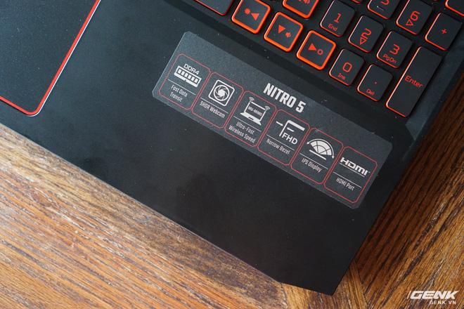 Cận cảnh laptop Acer Nitro 5 phiên bản 2019 tại Việt Nam: viền màn hình đã mỏng hơn, trang bị CPU Core i thế hệ 9 và NVIDIA GTX 16 Series - Ảnh 6.