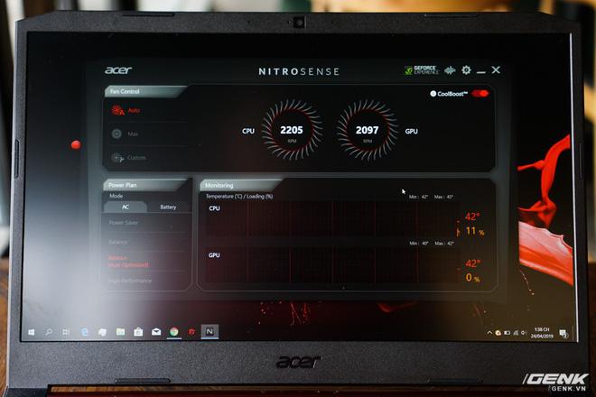 Cận cảnh laptop Acer Nitro 5 phiên bản 2019 tại Việt Nam: viền màn hình đã mỏng hơn, trang bị CPU Core i thế hệ 9 và NVIDIA GTX 16 Series - Ảnh 9.