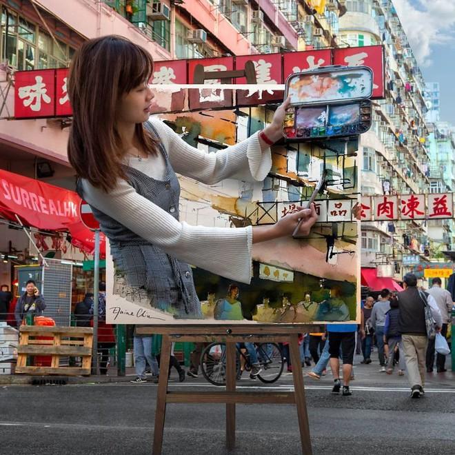 Chiêm ngưỡng một Hồng Kông ảo lòi qua con mắt của nghệ sĩ siêu thực - Ảnh 9.