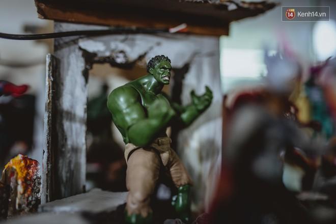 Gặp gỡ nhà sưu tầm mô hình Marvel cực đỉnh ở Việt Nam: Gia tài khủng gần 500 siêu anh hùng nhìn mà choáng! - Ảnh 11.