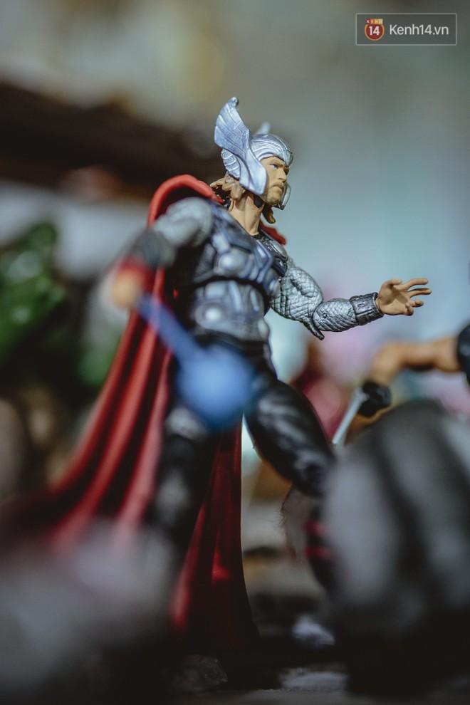 Gặp gỡ nhà sưu tầm mô hình Marvel cực đỉnh ở Việt Nam: Gia tài khủng gần 500 siêu anh hùng nhìn mà choáng! - Ảnh 9.