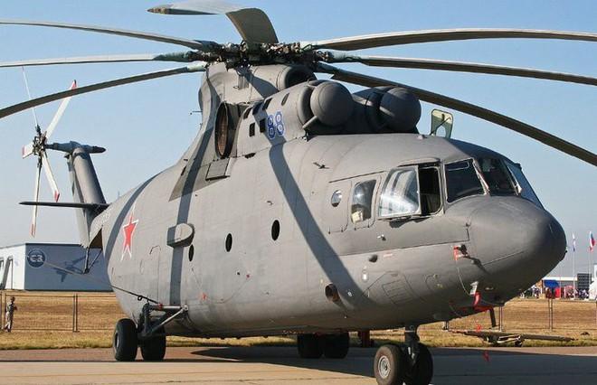 Khám phá trực thăng khổng lồ Mi-26 của Nga: Đã từng chở hóa thạch voi ma mút và máy bay chở khách cỡ nhỏ - Ảnh 7.