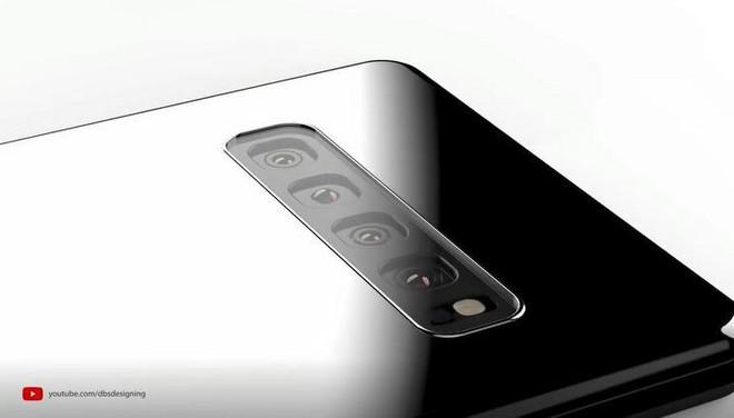 Ngắm ý tưởng Galaxy Note 10 với 4 camera sau, màn hình full-view không khiếm khuyết, tích hợp camera kép trên bút S Pen - Ảnh 3.