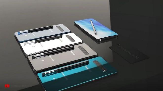 Ngắm ý tưởng Galaxy Note 10 với 4 camera sau, màn hình full-view không khiếm khuyết, tích hợp camera kép trên bút S Pen - Ảnh 2.