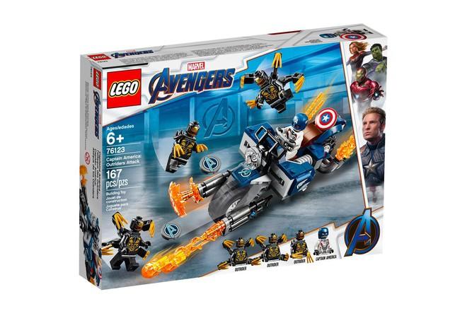 Marvel Studios ra mắt cùng lúc 5 bộ LEGO Avengers: Endgame cực xịn khiến fan phát sốt - Ảnh 9.