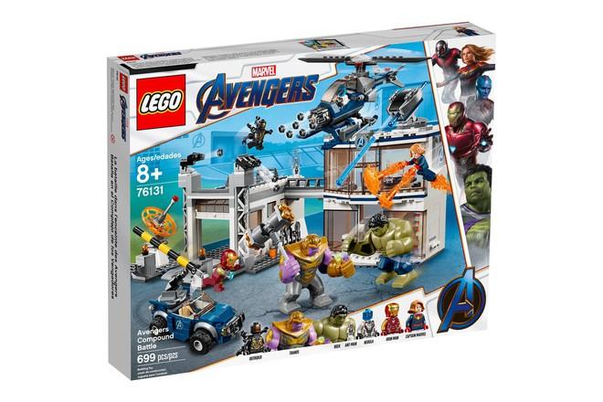 Marvel Studios ra mắt cùng lúc 5 bộ LEGO Avengers: Endgame cực xịn khiến fan phát sốt - Ảnh 5.