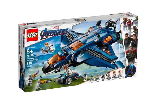 Marvel Studios ra mắt cùng lúc 5 bộ LEGO Avengers: Endgame cực xịn khiến fan phát sốt - Ảnh 7.