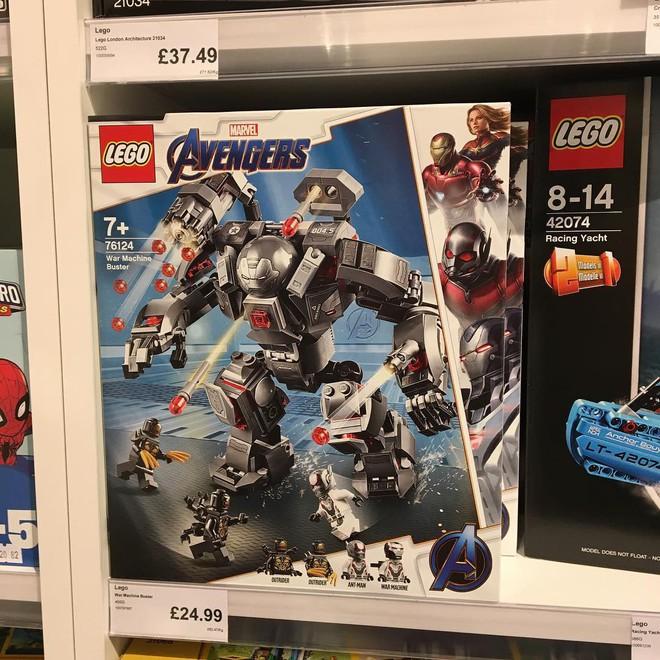 Marvel Studios ra mắt cùng lúc 5 bộ LEGO Avengers: Endgame cực xịn khiến fan phát sốt - Ảnh 1.