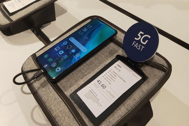 Viettel sử dụng smartphone OPPO Reno thử nghiệm kết nối mạng 5G đầu tiên tại Việt Nam, tốc độ tải dữ liệu đạt 654 Mb/s - Ảnh 3.