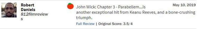 John Wick 3 đạt 97% rating trên Rotten Tomatoes, tuyệt phẩm hành động là đây chứ đâu - Ảnh 6.