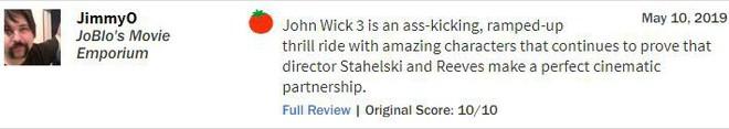 John Wick 3 đạt 97% rating trên Rotten Tomatoes, tuyệt phẩm hành động là đây chứ đâu - Ảnh 7.