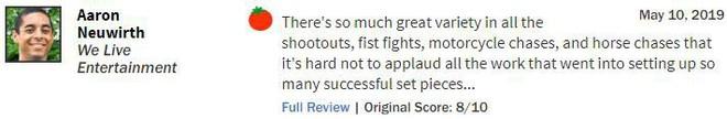 John Wick 3 đạt 97% rating trên Rotten Tomatoes, tuyệt phẩm hành động là đây chứ đâu - Ảnh 8.